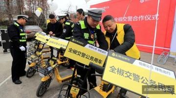 Велосипеды общего пользования сэкономили жителям Китая 760 млн часов на дорогу