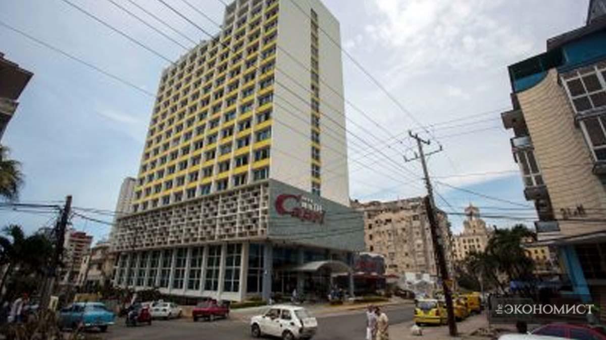 Знаменитый отель Capri в Гаване. Два сотрудника дипмиссии США сообщили, что в апреле 2017 года в номерах они ощущали пронзительные шумы (AP Photo / Desmond Boylan)