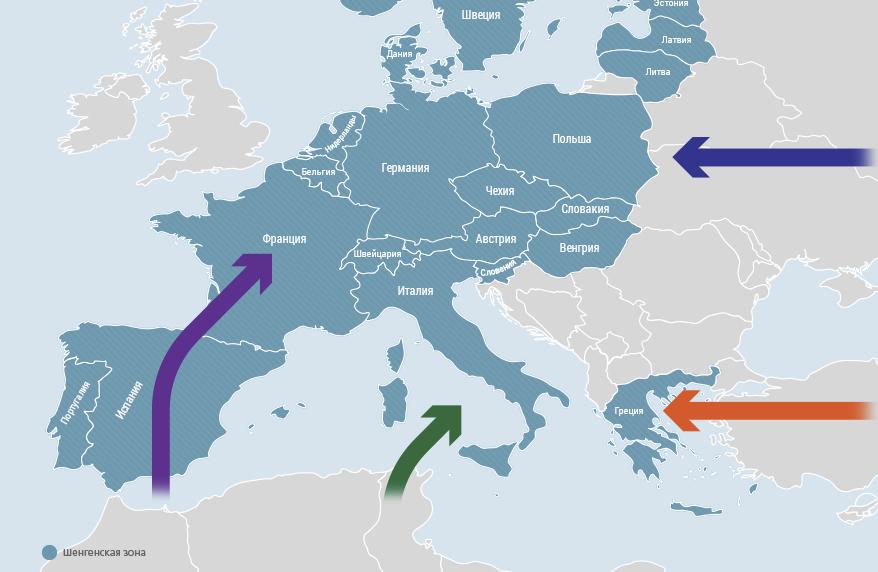 Беженцы в ЕС. От раскрытых объятий до скрытой ненависти-1