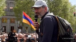 Лидер протестов в Ереване Никол Пашинян, партия «Елк»