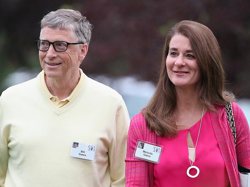 Билл Гейтс и Мелинда Гейтс