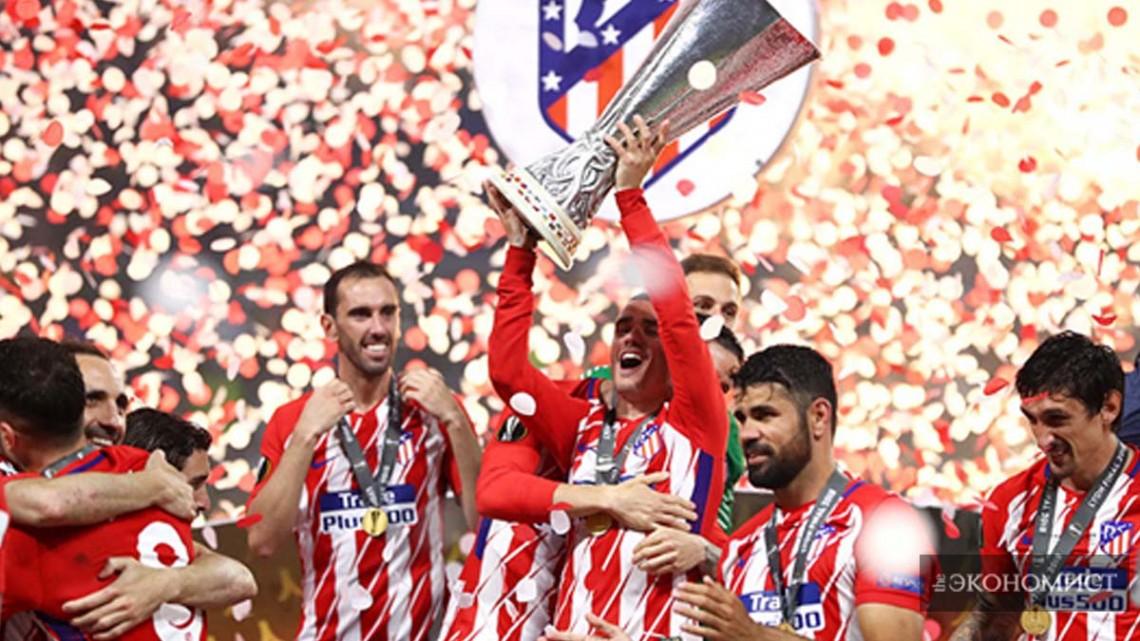 лига чемпионов выиграла атлетико