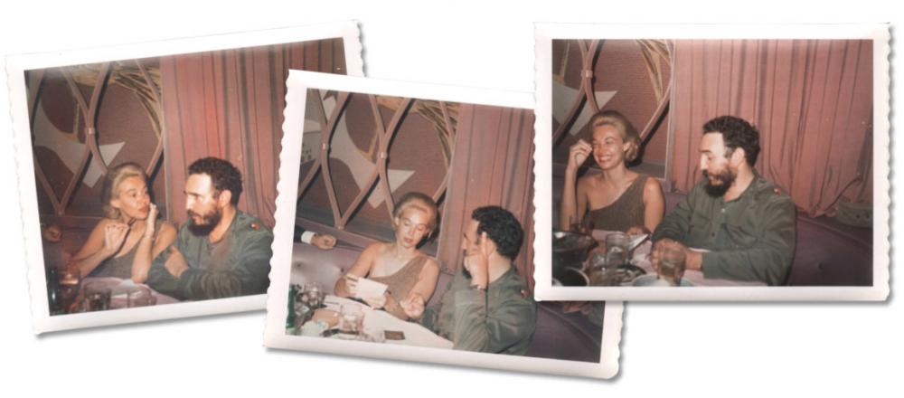 Фотографии Polaroid, сделанные на камеру Фиделя Кастро во время первой встречи с Лизой Ховард в Гаване 21 апреля 1963 года. / Архив Национальной Безопасности.
