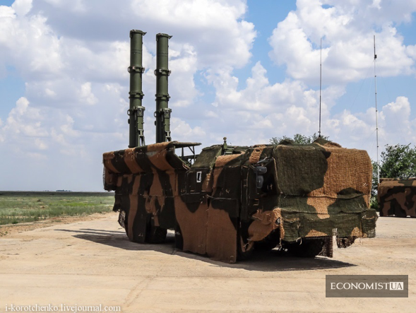СПУ 9П78-1 з крилатими ракетами Р-500 ракетного комплексу 9К720 «Іскандер-М»