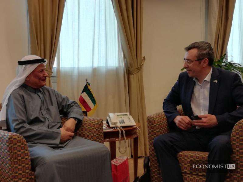 Общение с Заместителем Генерального директора Торгово-промышленной палаты Кувейта Мистером Хамад Дж.Аль-Омар, ТПП Кувейта