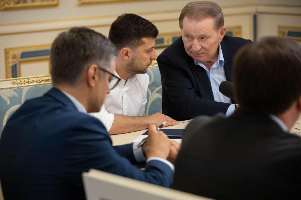Леонід Кучма очолив українську делегацію Тристоронньої контактної групи